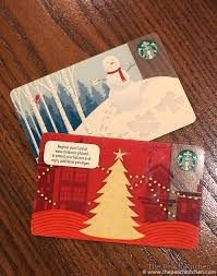 starbucks card christmas designs and leather card carrier the