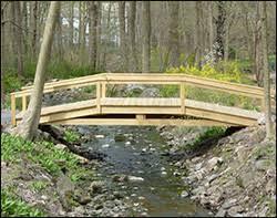 backyard bridges garden bridges wooden bridge designs custom wood bridges