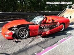 2004 chevy corvette 2004 chevrolet corvette wrecked weehawken nj photo 3