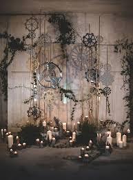 Wedding Backdrop Trends Moody Industrial Wedding Inspiration Industrial Wedding
