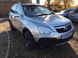 opel antara 2007 interior 2008 58plate 4x4 vauxhall antara s cdti presented in silver with