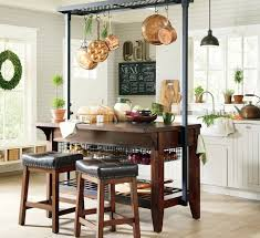 kitchen island pot rack beautiful kitchen islands with bench seating designing idea