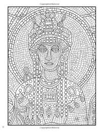 clever design ideas mosaic coloring books mosaic coloring pages