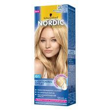 Hair Color Spray For Roots Buy Nordic Lightening Spray G1 125 Ml By Schwarzkopf Online