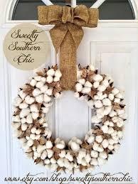 Wreath Diy Best 10 Cotton Wreath Ideas On Pinterest Cotton Decor Letter