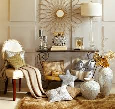 Silver Table Ls Living Room Home Decor Gold Home Decorating Ideas