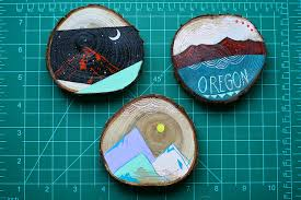 paintings on wood for sale habit of new works on wood slices