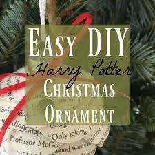 diy harry potter ornament easy to make