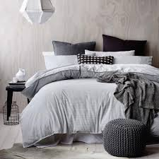 Duvet Covers Grey And White Kenneth Cole Reaction Home Oxford Duvet Cover In Grey Stripe