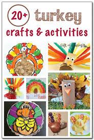 20 turkey crafts and activities gift of curiosity
