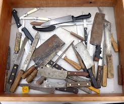 restoring old kitchen knives remove rust knives and high carbon