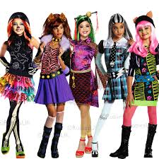 monster high frankie stein child halloween costume girls halloween costumes monster high ebay