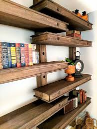 Wood Shelf Building Plans by Best 25 Building Shelves Ideas On Pinterest Shelving Ideas
