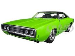 1970 dodge charger green 1970 dodge charger r t green 1 24 diecast model car by 97595