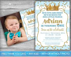 Free Online Birthday Invitation Cards For Kids Prince Invitation Little Prince First Birthday Boy First
