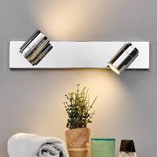 dejan bathroom wall light in chrome two bulbs lights co uk