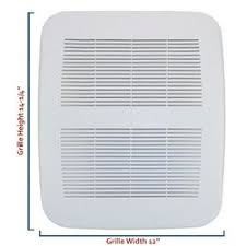 broan exhaust fan cover nutone products nutone ls50 ventilation fan replacement grille