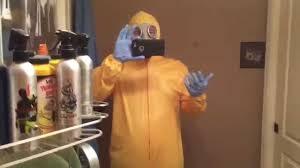hazmat suit halloween costume hazmat suit costume review youtube