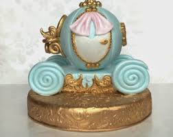cinderella carriage cake topper fondant princess carriage cake topper cinderella carriage cake