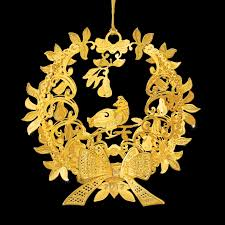 2012 annual gold ornament the danbury mint
