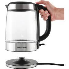 farberware 1 7l kettle glass walmart com
