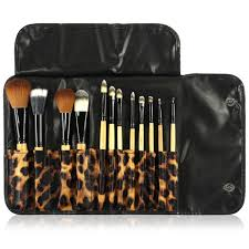 professional makeup brushes 24 piece set black great for