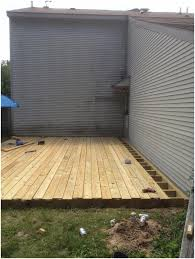 backyards winsome from dirt to deck how build a ground level the