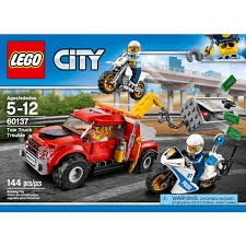 Tow Truck Business Cards Lego City Police Tow Truck Trouble 60137 Walmart Com