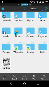 create folder on android android how to create folder on sdcard with app icon with left