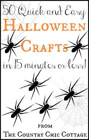easy halloween crafts over 45 easy halloween crafts the country chic cottage