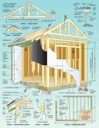 20 best storage shed plans images on pinterest storage shed