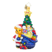 christopher radko ornaments baby ornaments
