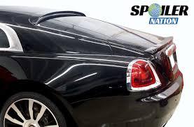 rolls royce phantom rear 2013 2016 rolls royce wraith tersoro rear trunk lip spoiler