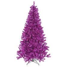 purple christmas tree purple christmas trees you ll wayfair