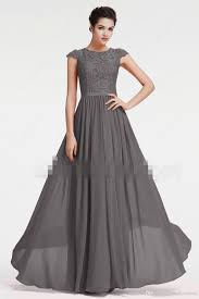 modest bridesmaid dresses modest bridesmaid dresses with cap sleeves grey lace