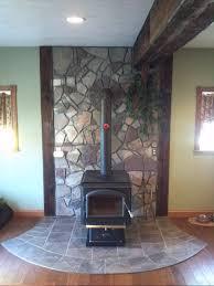free standing fireplace binhminh decoration
