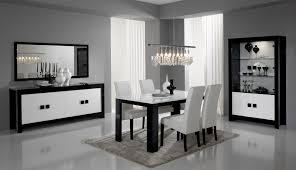 Table Salle A Manger Blanc Laque Conforama Charmant Table Salle A Manger 6 8 Personnes Buffet Haut Design Blanc Moderne