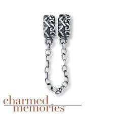 kay jewelers charms kay charmed memories heart safety chain sterling silver