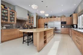 Natural Wood Kitchen Cabinets 124 Custom Luxury Kitchen Designs Part 1