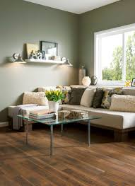 Living Room With Laminate Flooring Gunstock Butterscotch L3104 Laminate