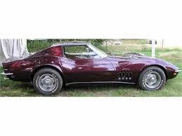 1969 corvette stingray for sale 1969 chevrolet corvette for sale classiccars com cc 262527