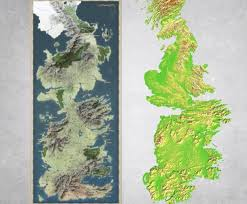 Map Westeros Game Of Thrones Through The Maps Geographicmind