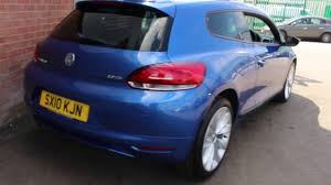 Vw Scirocco Gt Tdi Finished In Rising Blue At Rix Motor Company