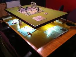Built A Gaming Table For Dd It Came Out Great I Think What Say - Board game table design