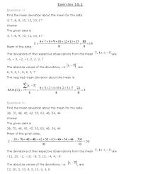 ncert solutions for class 11th maths chapter 15 u2013 statistics