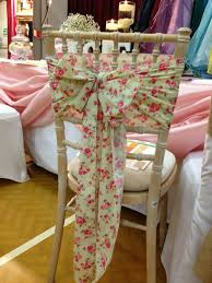 Chair Sashes Floral Chair Sashes Chair Covers