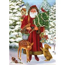what is the relationship between jesus christ and santa claus