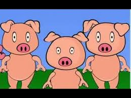 pigs animated story book classroom
