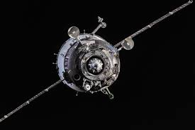 Sojuzs51 by Soyuz Approaches The Space Station Nasa