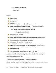 Resume For Marketing And Sales Detailed Approach To Thyroid Gland And Parathyroid Glands